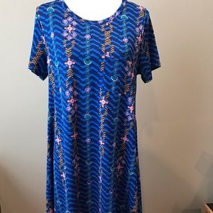 Small LuLaRoe Carly dress, excellent condition!